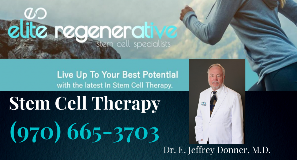 Stem Cell Therapy Colorado-Haystack Help Radio Show-Dr. Donner Official Sponsor